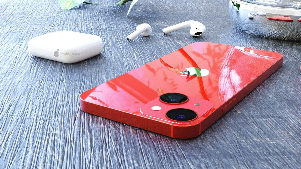 تصویر نمونه اولیه آیفون ۱۳ مینی طراحی ماژول دوربین آن را به خوبی نشان میدهد