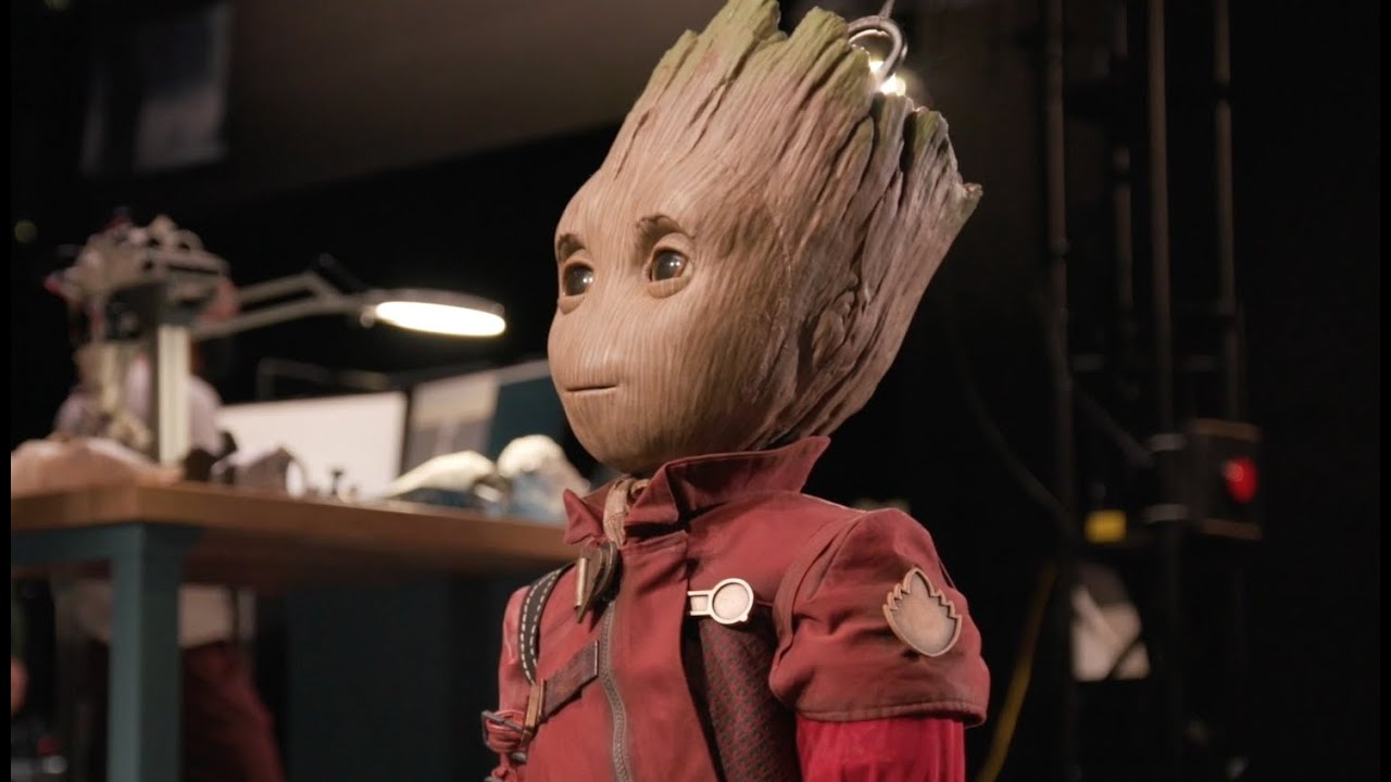 ربات جدید دیزنی یکی از شخصیتهای فیلم نگهبانان کهکشان را زنده میکند [تماشا کنید]